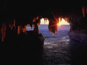 Sea Caves, Apostle Islands, Wisconsin